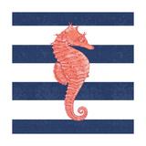Seahorse Stripe Prints by Stephanie Marrott