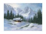 Snowy Hideaway Prints by Vickie Wade