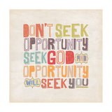 Seek God Posters by Stephanie Marrott