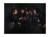 The Denial of Saint Peter, 1620s Giclee Print by Gerard Seghers