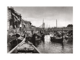 The Whiteley Bridge, Ashar Creek, Basra, Iraq, 1925 Giclee Print by A Kerim