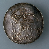 Silver Denar of the City of Hildesheim, Germany, C1045-C1056 Photographic Print