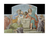 Apostles around the Empty Sepulchre, 1604-1607 Giclee Print by Annibale Carracci
