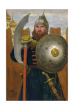 On Guard Giclee Print by Viktor Mikhaylovich Vasnetsov