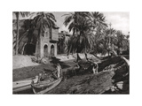 Serai Creek, Basra, Iraq, 1925 Giclee Print by A Kerim