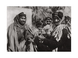 A Sheikh Enjoying the Famous Arab Coffee, Iraq, 1925 Giclee Print by A Kerim