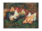 Gefiederte Freunde Kunstdrucke von Vickie Wade