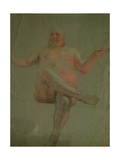 Study for Get Thee Hence, Satan!, 1890S Giclee Print by Ilya Yefimovich Repin