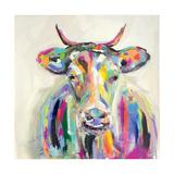 Artsy Cow Poster van Melissa Lyons