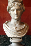 Portrait Bust of Paris, Son of the Trojan King Priam Photographic Print