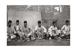 Turkish Money Changers, Baghdad, Iraq, 1925 Giclee Print by A Kerim
