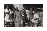 The Free Distribution of Cold Drinking Water, Iraq, 1925 Giclee Print by A Kerim
