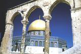 The Dome of the Rock, Jerusalem, Built 685-69 Photographic Print