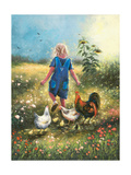 Country Chicks Prints by Vickie Wade