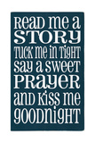 Good Night Posters by Erin Deranja