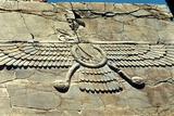 Ahura Mazda, Persepolis, C500 Bc Photographic Print