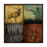 Hunting 4 Patch II Poster by Stephanie Marrott