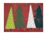 Christmas Tree Delight I Poster by Melissa Lyons