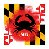 Maryland 4 Prints by Stephanie Marrott