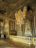 The Queen's Bedchamber, the Queen's Suite (Grand Appartement De La Rein) Photographic Print
