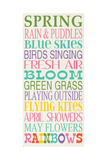 Spring Posters by Erin Deranja