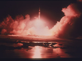 Launch of the Apollo 17 Mission, 1972 Photographic Print