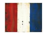 French Flag Posters by Melissa Lyons