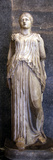 Statue of a Goddess, Possibly Demeter Photographic Print