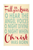 Fall on Your Knees Posters by Erin Deranja