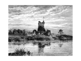 Ross Castle, County Kerry, Ireland, 19th Century Giclee Print by  Weber