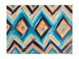 Aztec Pattern Print by Melissa Lyons