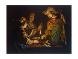 Esau and Jacob, 1640S Giclee Print by Matthias Stomer