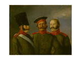 Tsar's Nicholas I Life Guards, Second Quarter of the 19th Cen Giclee Print by Alexander Ivanovich Sauerweid