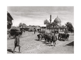 View of a Street from the North Gate, Baghdad, Iraq, 1925 Giclee Print by A Kerim