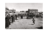 The Bazaar Square in Basra, Iraq, 1925 Giclee Print by A Kerim