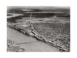 Baghdad from an Aeroplane, Iraq, 1925 Giclee Print by A Kerim