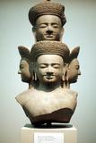Five-Headed Bust of Shiva, Mid 10th Century Reprodukcja zdjęcia