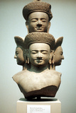 Five-Headed Bust of Shiva, Mid 10th Century Photographic Print