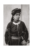 Kurdish Lady in Her Best Costume, Iraq, 1925 Giclee Print by A Kerim