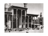 The Entrance Gate of the Kadimain Mosque Leading to the Tomb of the Imam Moosa Al Kadim, 1925 Giclee Print by A Kerim