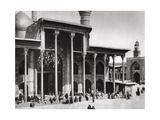 The Entrance Gate of the Kadimain Mosque Leading to the Tomb of the Imam Moosa Al Kadim, 1925 Giclee Print by A Kerim