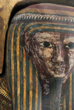 Wooden Sarcophagus of Pa-Kush, Priest of Amun Photographic Print