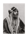 An Arab Sheikh, Iraq, 1925 Giclee Print by A Kerim