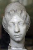 Roman Female Portrait Head, the So Called Syrian Lady, Third Quarter of 2nd Century Photographic Print
