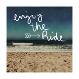 Enjoy the Ride Prints by Linda Woods