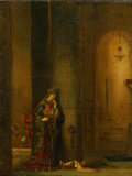 Salome at the Prison Photographic Print by Gustave Moreau