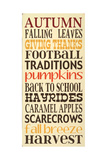 Autumn Harvest Posters by Erin Deranja