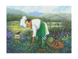 Garden Chef Prints by Vickie Wade