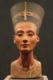 The Nefertiti Bust, Ca 1350 Bc Papier Photo