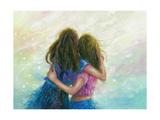 Big Sister Hug Poster by Vickie Wade